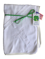 Irish Bundles Christening Blanket